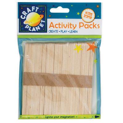 Lollipop Sticks (50pcs) - Natural