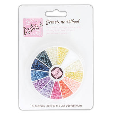 Gemstone Wheel - Pearl