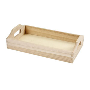 Tray - wooden