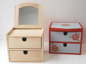 Jewellery box - wooden