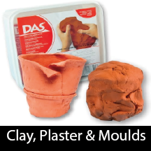 Clay, Plaster, Fimo & Moulds
