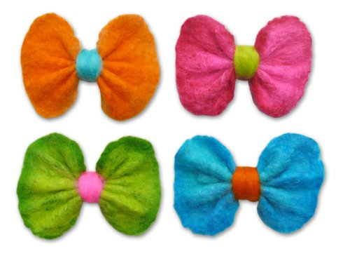 Kids Wet Felting Clip Kit - Bow Delicious