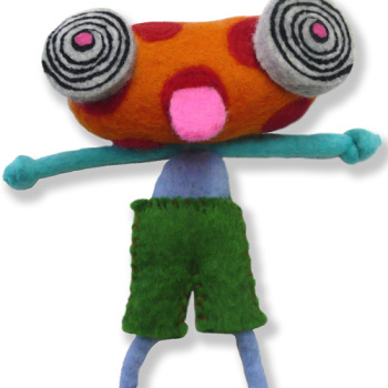 Kids Felting Kit - Monstrous Maurice