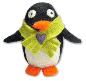 Needle Felting Penguin Kit - Gwendoline Penguine
