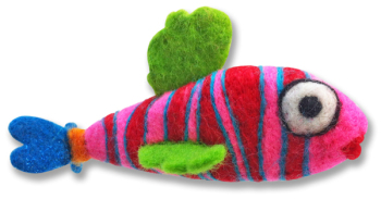 Needle Felting Fish Kit - Submersible Percival