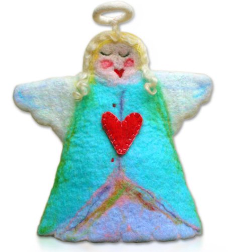 Felting Kit - Christmas Angel Hallelulah Hattie