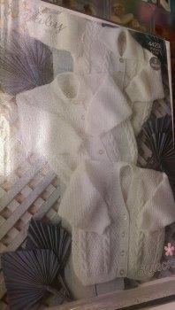 4420 - Cardigan - Baby 4ply *Knitting Pattern