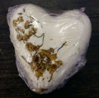 Honey & Chamomile Bath Fizz Heart Shape