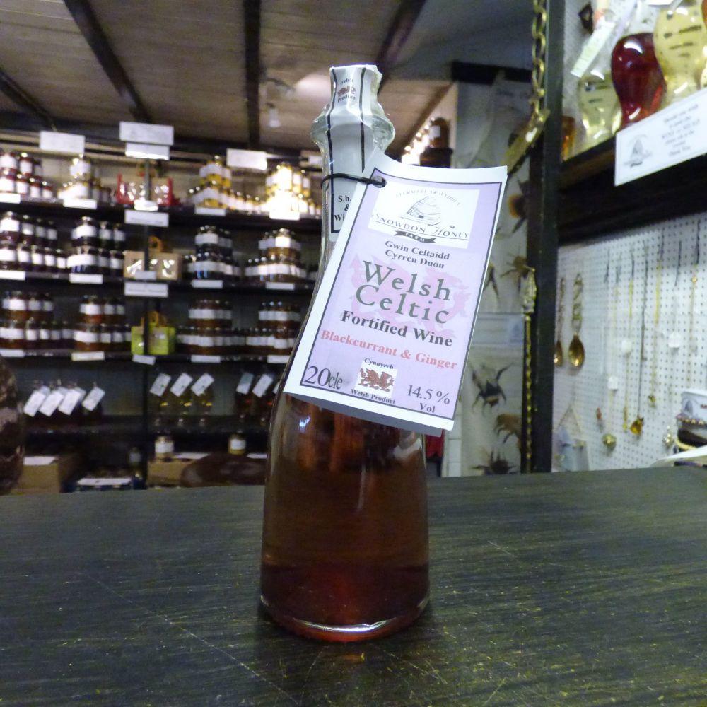 Blackcurrant & Ginger Wine 20cl