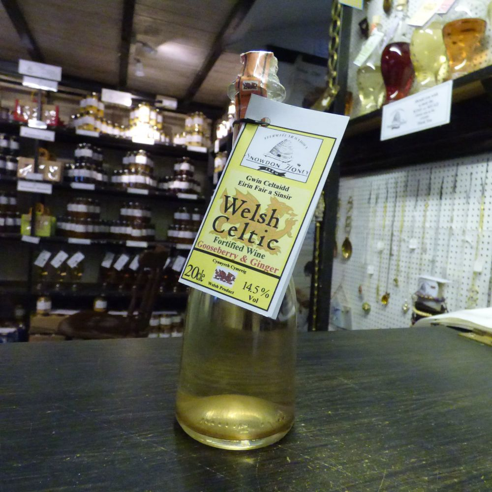 Gooseberry and Ginger Wine 20cl