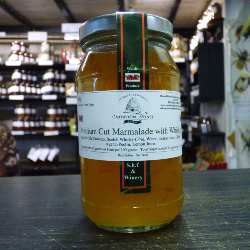 Orange Marmalade with Whiskey