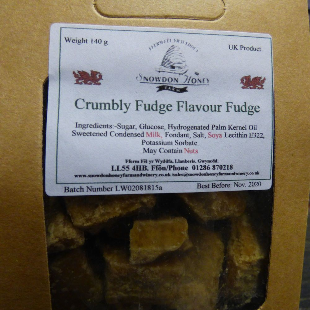 Crumbly Fudge Flavoured Fudge Box