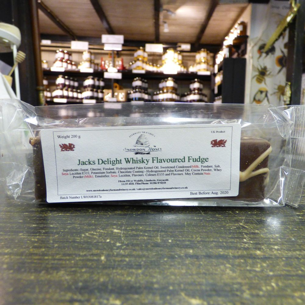 Jack's Delight Whiskey Flavoured Truffle Bar