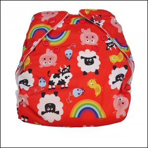 Real Easy sized nappy (farm)