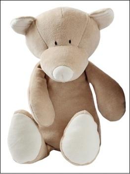 Wooly organic soft toy (teddy)