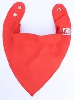 DryBib bandana bib (red)