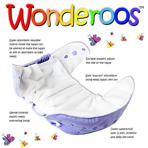 Wonderoo open nappy