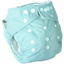 Little Lamb Onesize Pocket Nappy (Duck Egg)