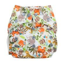 Baba+Boo ONe Size Pocket Nappy (Jungle Friends)