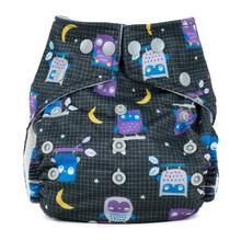 Baba+Boo One Size Pocket Nappy (Night Owls)