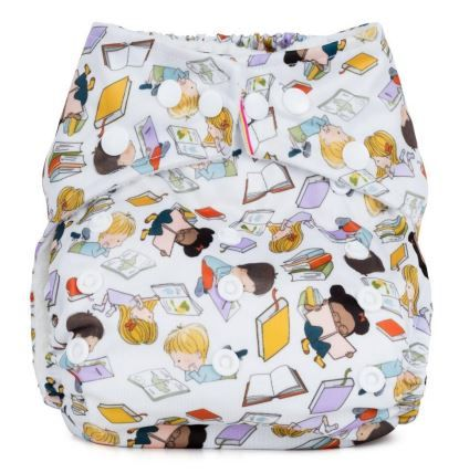 Baba and Boo One Size Pocket Nappy (Bookworm)