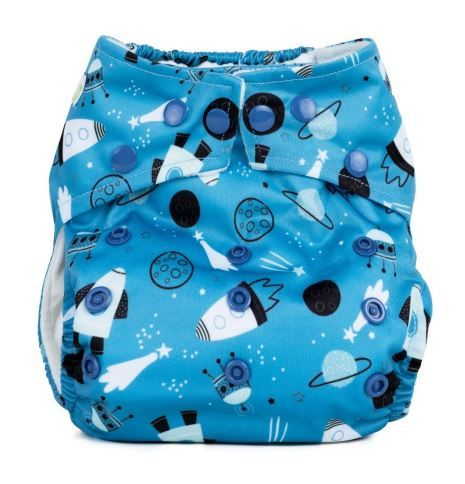 Baba and Boo One Size Pocket Nappy (Shoot for the Moon)