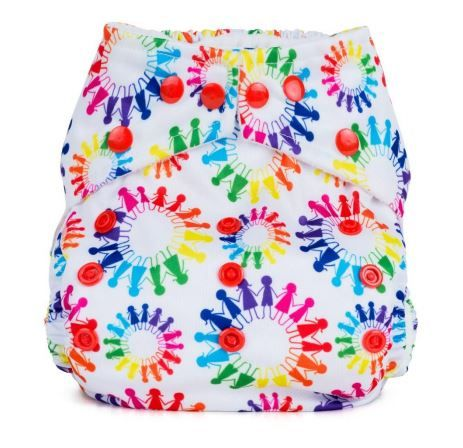 Baba and Boo One Size Pocket Nappy (Tribe)