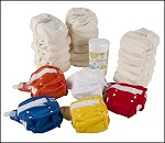 Lollipop bamboo nappy set (20 nappies)