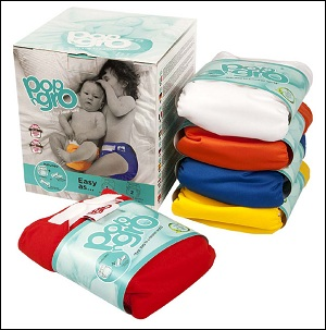 PopNGro pocket nappy 5 pack (20-35 lbs)
