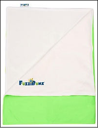 Fuzzi change mat (apple green)