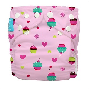 NEW!! Charlie Banana one-size nappy (cupcake)