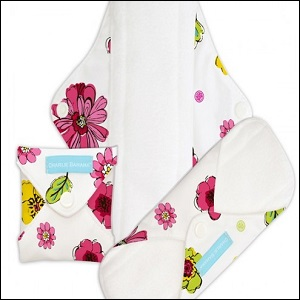 Charlie Banana menstrual pads (blooms)