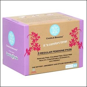 Charlie Banana menstrual pads (lavender)
