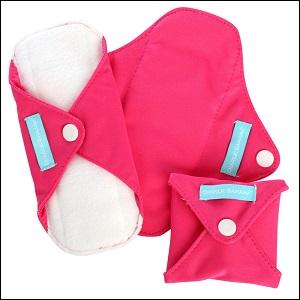 Charlie Banana menstrual pads (hot pink)