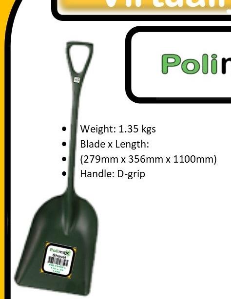 Polimax Transfer Shovel Large
