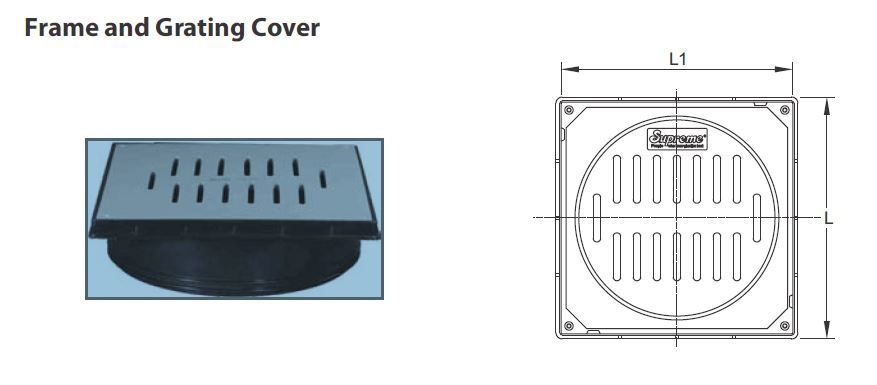 Yard Gully Cover & Frame