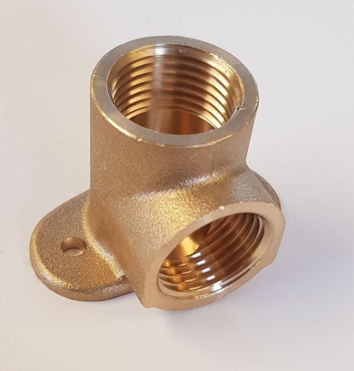 Brass wall plate 1/2