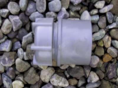 Access cap 50mm PVC waste grey