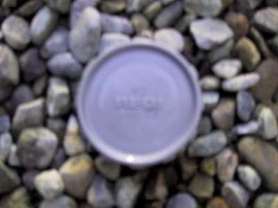 Blank cap 50mm PVC waste grey
