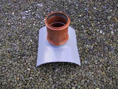 Twinwall to PVC Saddle 375mm x 6