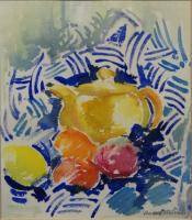 Yellow Teapot Vanessa Whinney