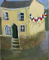cc Corner House 14x11cm
