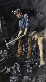 Miners 1 71x 40.5cm