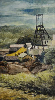 Northern United Colliery 71x 40.5cm