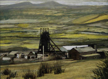 Hirwaun in the Cynon Valley 45x61cm