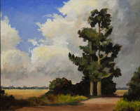 Norfolk trees Barbara Bernard 28 x 36cm