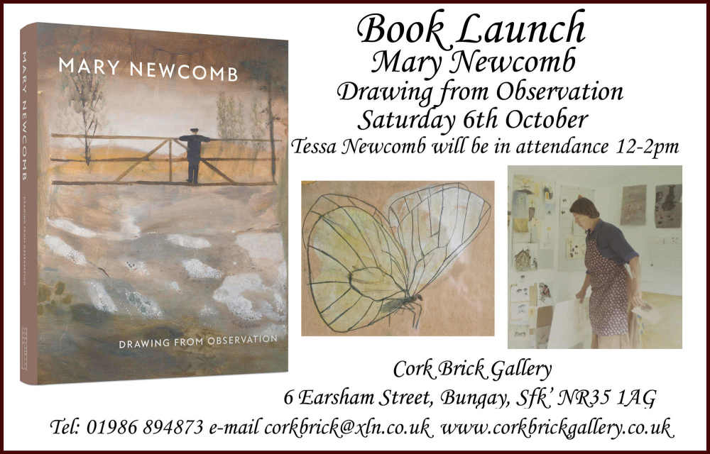 Mary Newcomb book launch