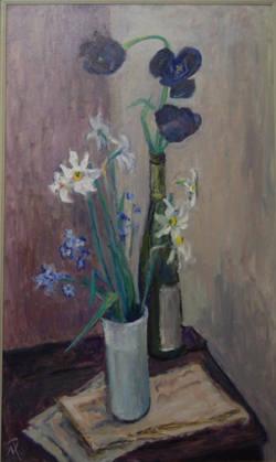 Black Tulips 78cm x 48cm.jpg sm