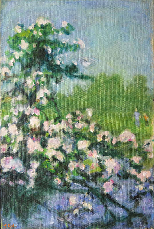 Julie Giles Apple Bough  46x 30 cm