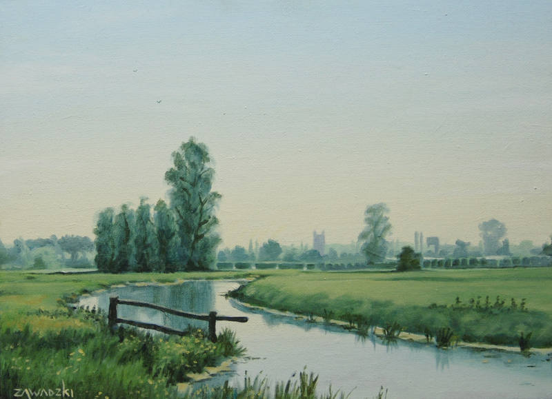 Paul Zawadski  Bungay Common  30 x 40cm